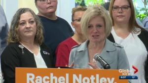 Notley speaks about providing more help for aging Albertans